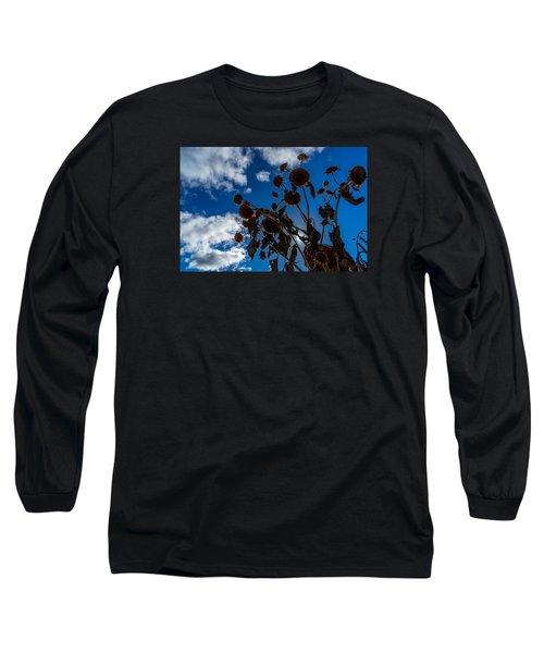 Darkening Skies Long Sleeve T-Shirt by Derek Dean