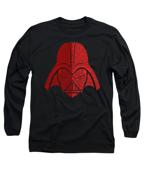 Darth Vader - Star Wars Art - Red 02 Long Sleeve T-Shirt