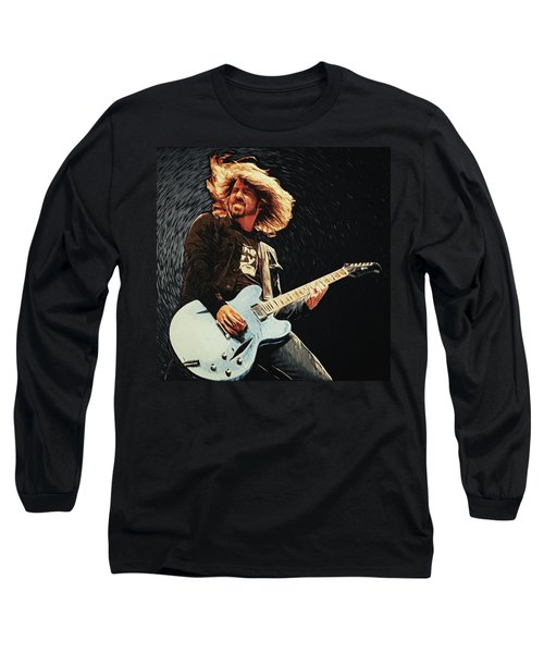 Dave Grohl Long Sleeve T-Shirt