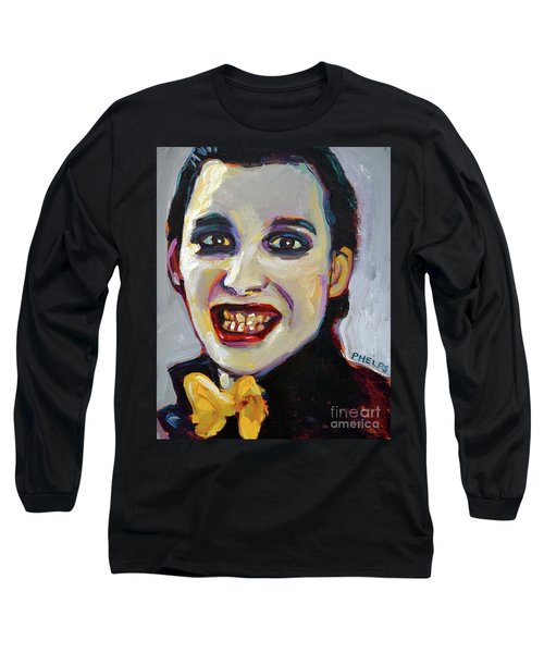 Dave Vanian Of The Damned Long Sleeve T-Shirt