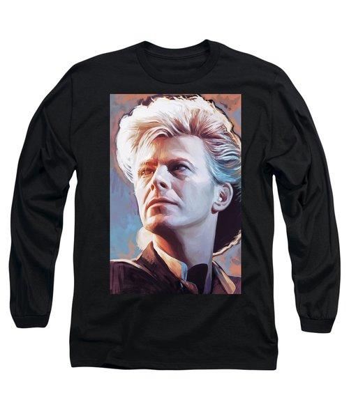David Bowie Artwork 2 Long Sleeve T-Shirt