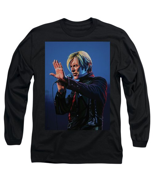 David Bowie Live Painting Long Sleeve T-Shirt