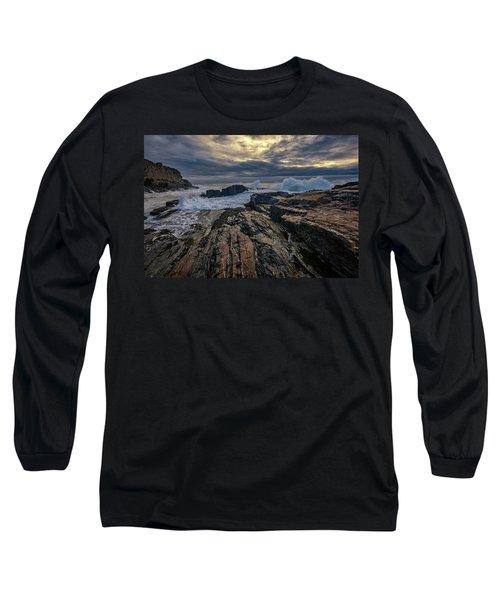 Long Sleeve T-Shirt featuring the photograph Dawn At Bald Head Cliff by Rick Berk