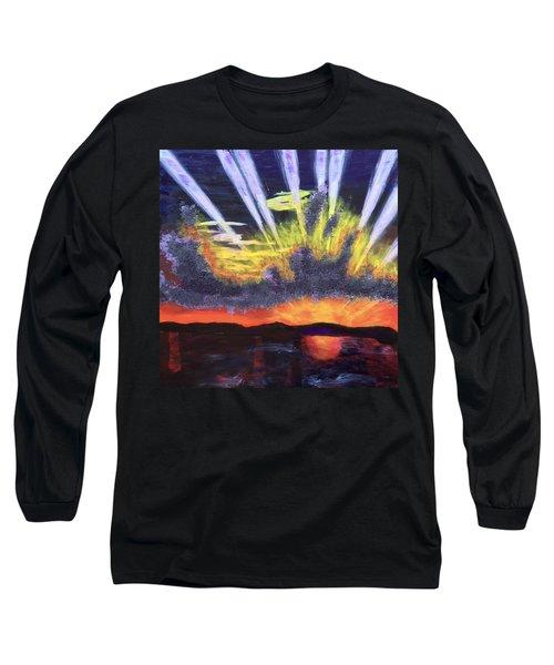 Dawn Long Sleeve T-Shirt by Donald J Ryker III