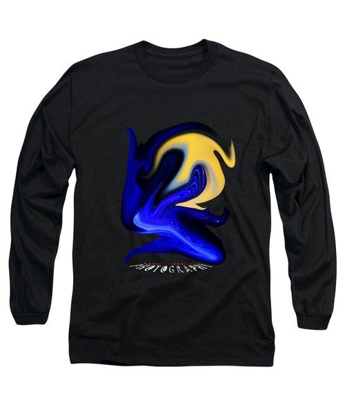 Dawn  Transparency Long Sleeve T-Shirt
