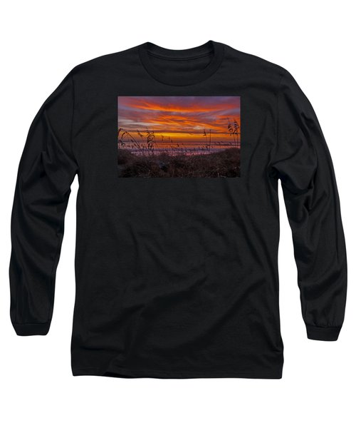 Dawn On The Dunes Long Sleeve T-Shirt by John Harding