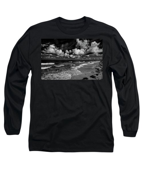 Day At The Beach Long Sleeve T-Shirt by Kevin Cable