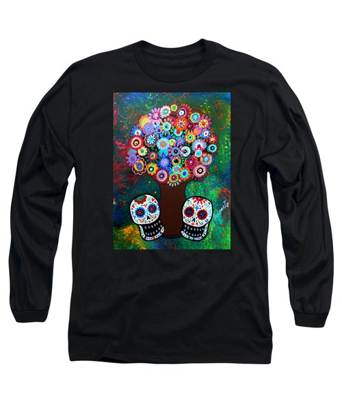 Day Of The Dead Love Offering Long Sleeve T-Shirt
