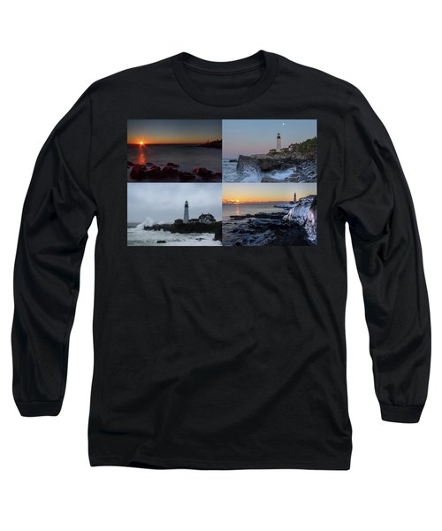 Day Or Night In Any Season Long Sleeve T-Shirt