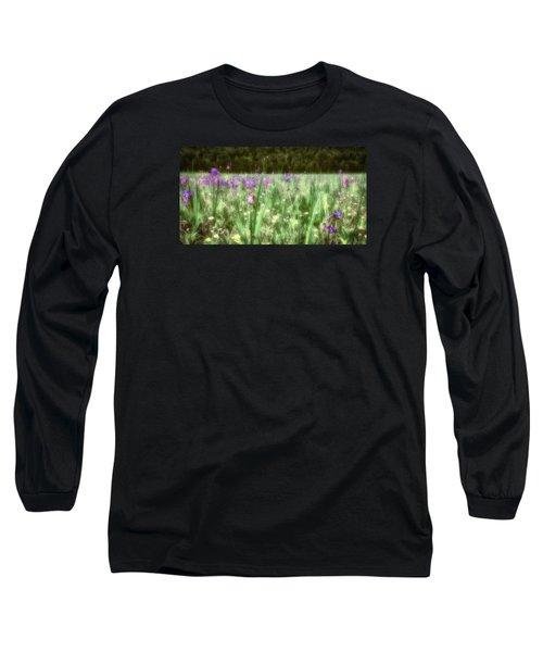 Daydreams In A Meadow Long Sleeve T-Shirt by Rick Furmanek