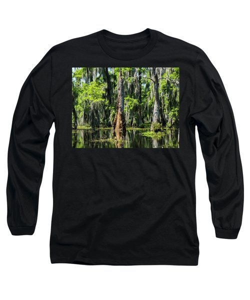Daylight Swampmares Long Sleeve T-Shirt by Kimo Fernandez
