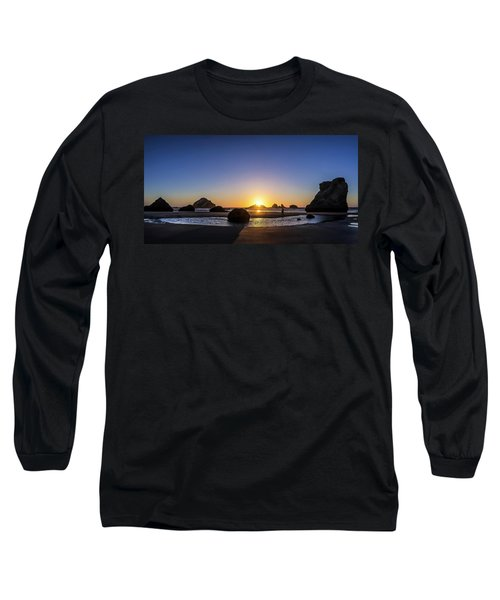 Day's End At Bandon Long Sleeve T-Shirt