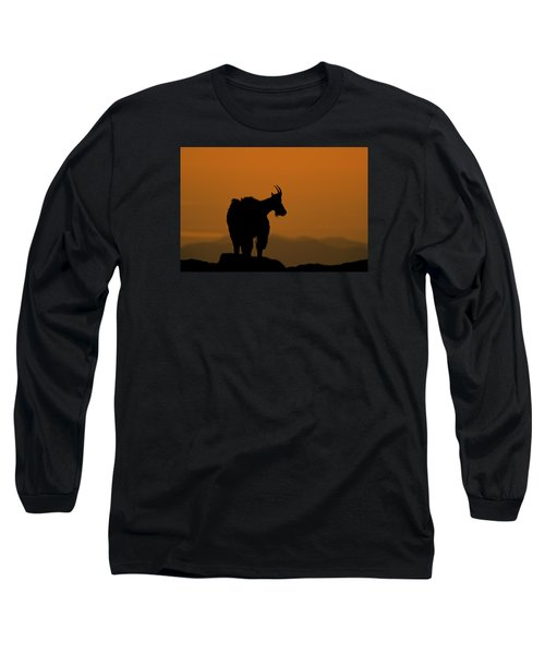 Long Sleeve T-Shirt featuring the photograph Day's End by Gary Lengyel