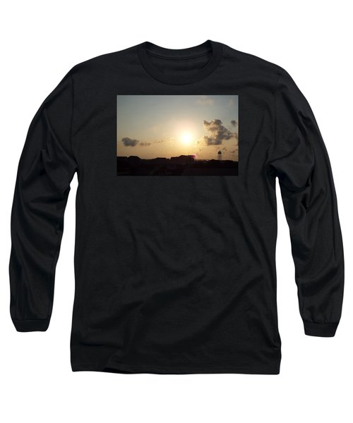 Long Sleeve T-Shirt featuring the photograph Days End by Jake Hartz