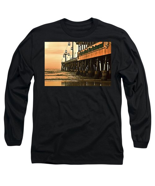 Daytona Beach Pier Long Sleeve T-Shirt