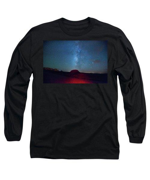 De Na Zin Milky Way Long Sleeve T-Shirt