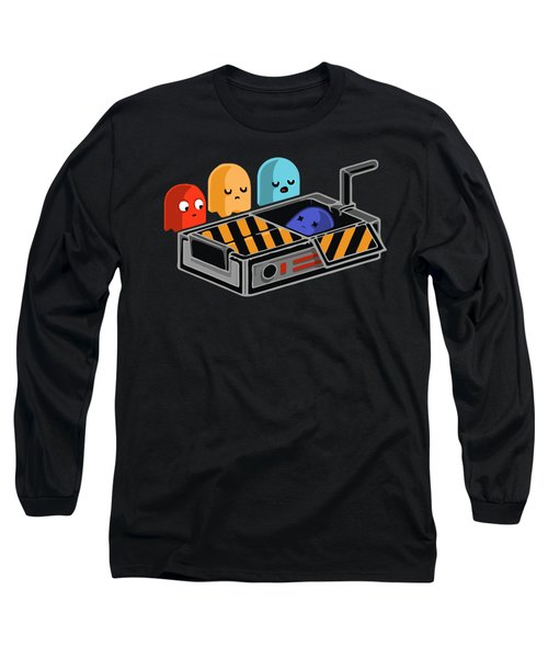 Dead Ghost Long Sleeve T-Shirt by Opoble Opoble