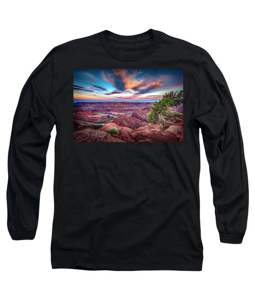 Dead Horse Point At Sunrise Long Sleeve T-Shirt