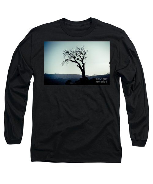 Dead Tree At The Sky Long Sleeve T-Shirt