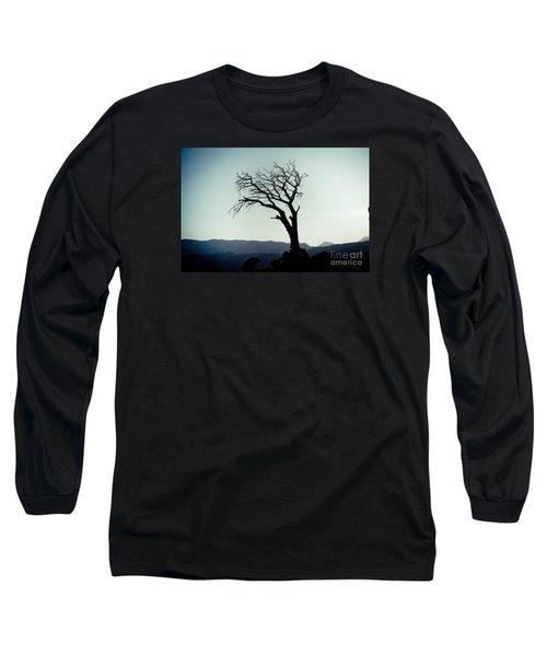 Dead Tree At The Sky Long Sleeve T-Shirt