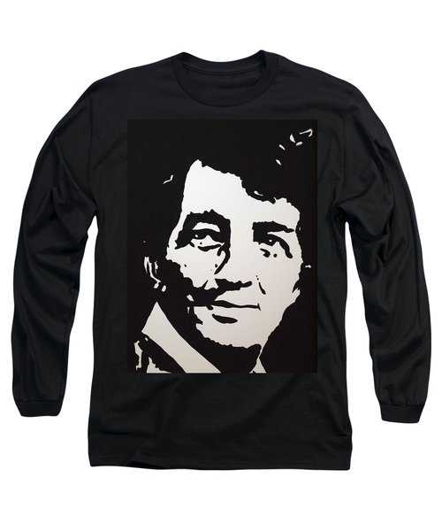 Dean Martin Loving Life Long Sleeve T-Shirt by Robert Margetts