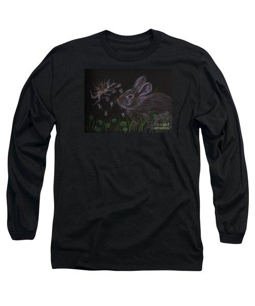 Dearest Bunny Eat The Clover And Let The Garden Be Long Sleeve T-Shirt