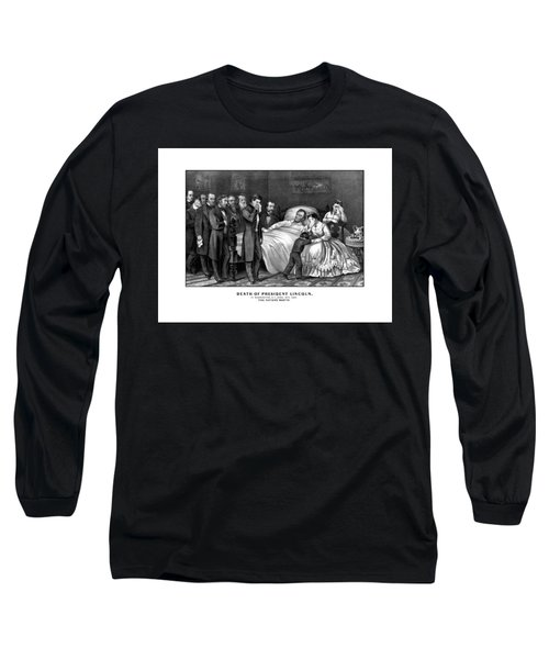 Death Of President Lincoln Long Sleeve T-Shirt