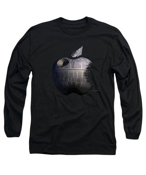 Death Star Apple Long Sleeve T-Shirt