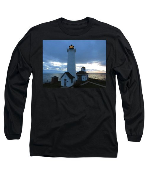 December Light, Tibbetts Point  Long Sleeve T-Shirt