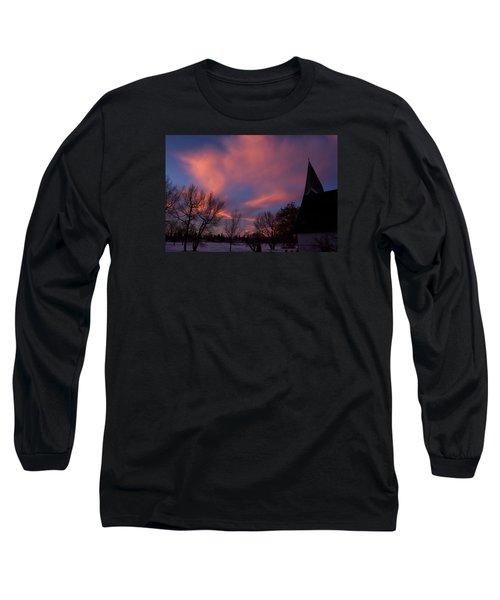 December Skies Long Sleeve T-Shirt by Ellery Russell