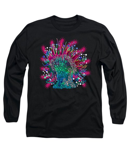 Deco Anemone Long Sleeve T-Shirt
