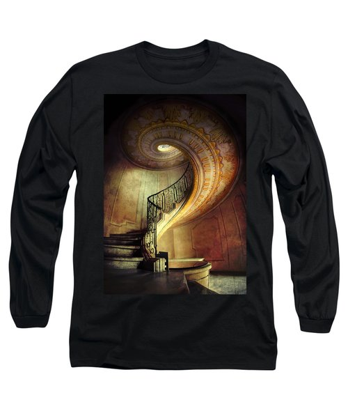 Decorated Spiral Staircase  Long Sleeve T-Shirt