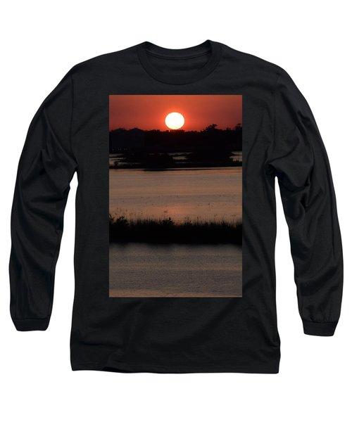 Deep Louisiana Long Sleeve T-Shirt by John Glass