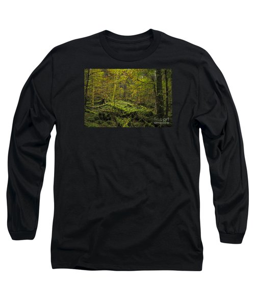 Long Sleeve T-Shirt featuring the photograph Deep Of The Forest by Yuri Santin
