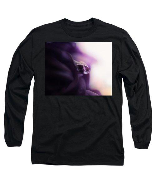Deep Purple Velvet Long Sleeve T-Shirt
