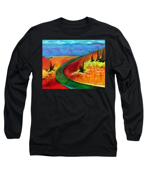 Deeper Than It Seems Long Sleeve T-Shirt by Elizabeth Fontaine-Barr