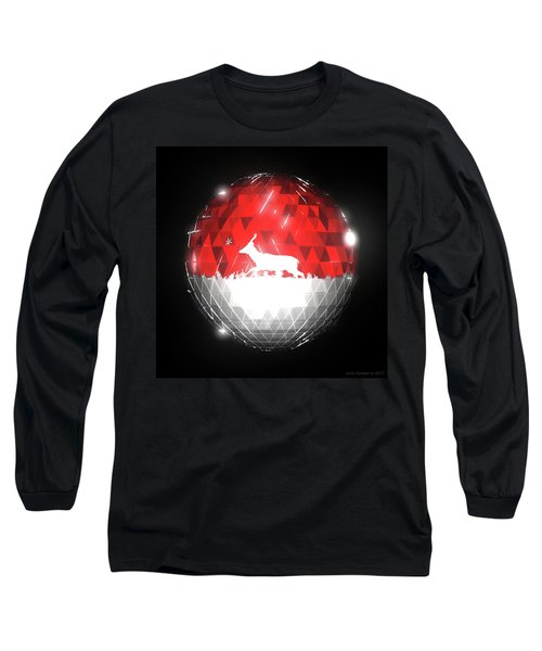 Deer Bauble - Frame 10 Long Sleeve T-Shirt