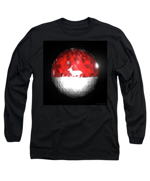 Deer Bauble - Frame 103 Long Sleeve T-Shirt