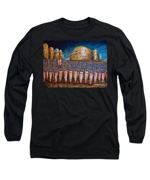 Defence Of Jerusalem Long Sleeve T-Shirt