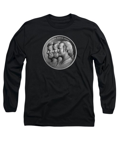 Defender Martyr Father Long Sleeve T-Shirt by War Is Hell Store