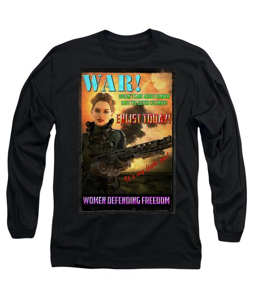 Defending Freedom Long Sleeve T-Shirt