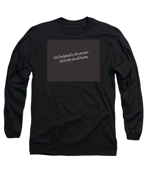 Long Sleeve T-Shirt featuring the photograph Defined by Mark Alan Perry