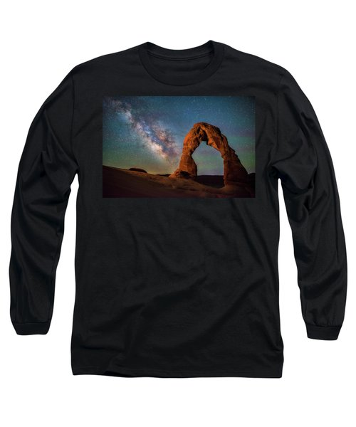 Long Sleeve T-Shirt featuring the photograph Delicate Air Glow by Darren White