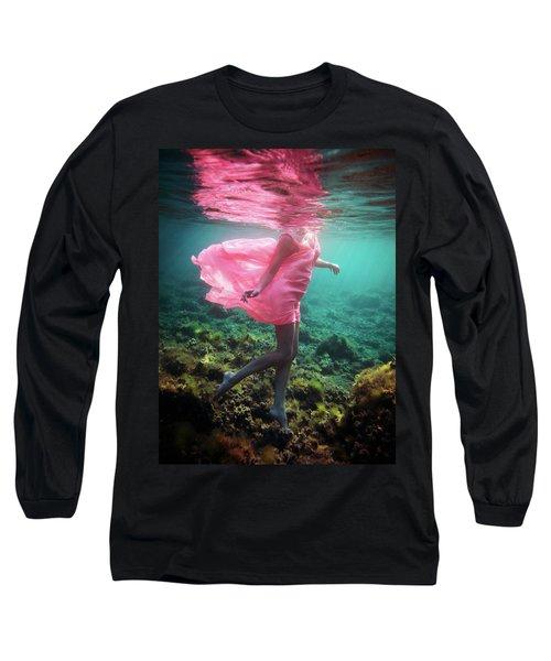 Delicate Mermaid Long Sleeve T-Shirt