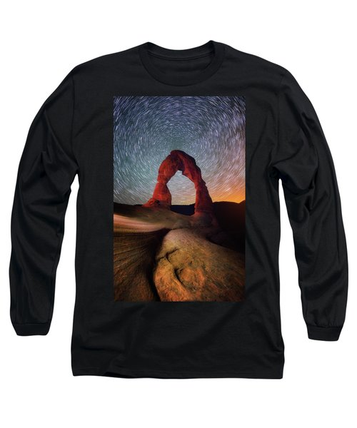 Long Sleeve T-Shirt featuring the photograph Delicate Spin by Darren White