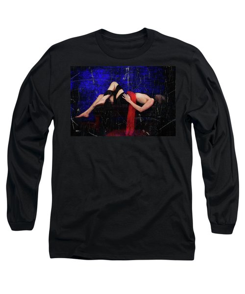 Delicious Vampire Sacrafice In Blue Long Sleeve T-Shirt