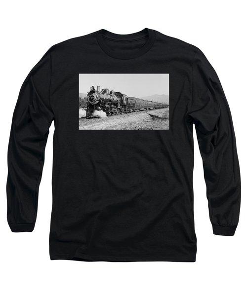 Deluxe Overland Limited Passenger Train Long Sleeve T-Shirt