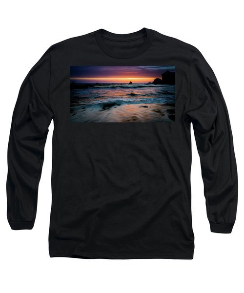 Demartin Beach Sunset Long Sleeve T-Shirt