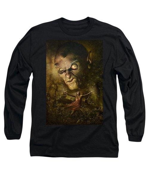 Demonic Evocation Long Sleeve T-Shirt