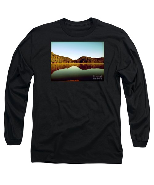 Long Sleeve T-Shirt featuring the photograph Denholm Lake by France Laliberte